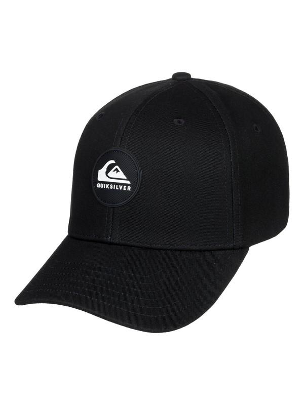 0 Boy's 2-7 Super Unleaded Baseball Hat Black AQKHA03273 Quiksilver