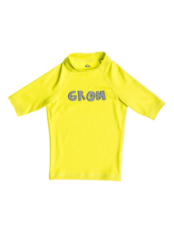 0 Grom - Rash vest a maniche corte  AQKWR03005 Quiksilver