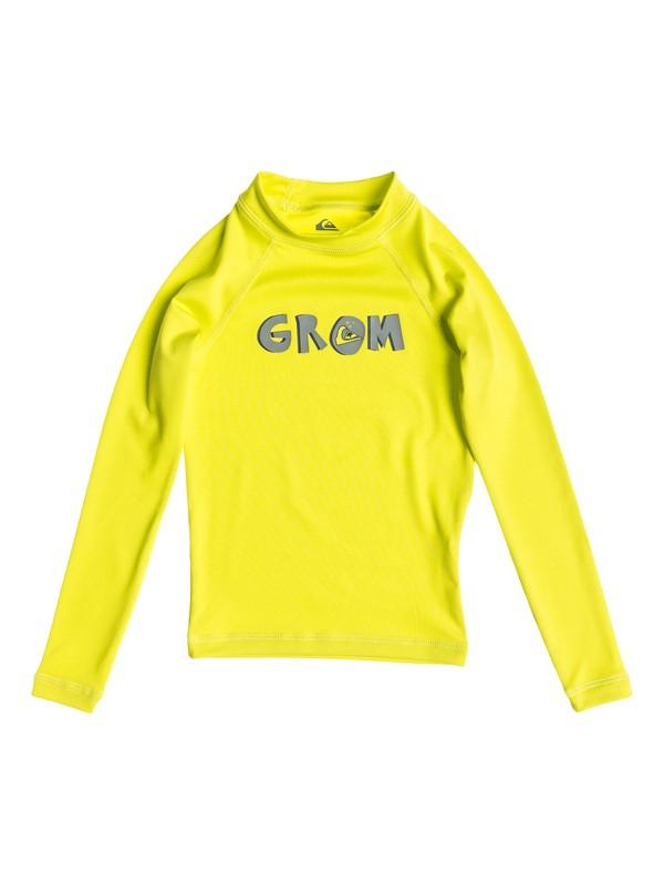 0 Grom - Rash vest a maniche lunghe  AQKWR03006 Quiksilver