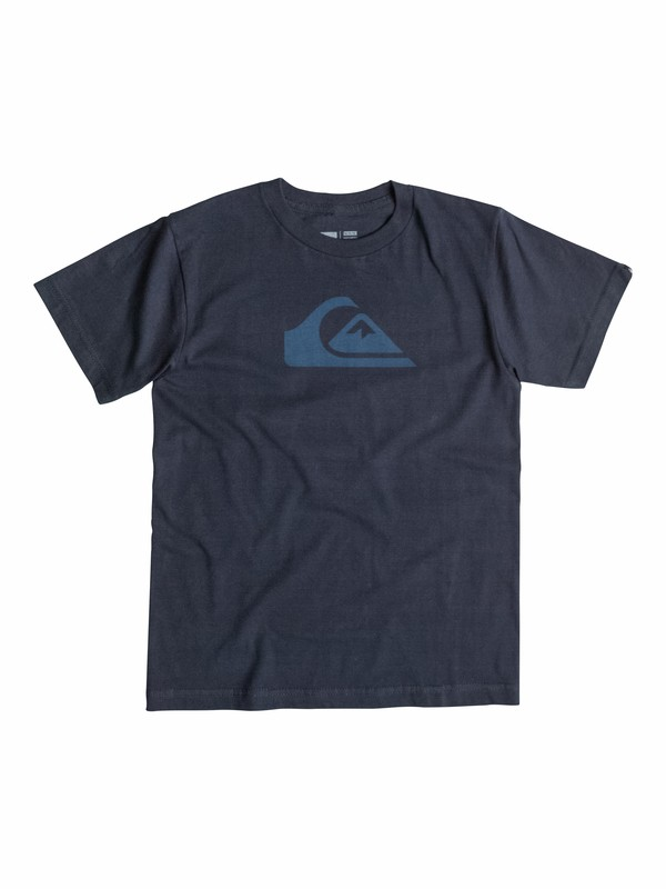 0 Everyday Logo Core - T-Shirt  AQKZT03090 Quiksilver
