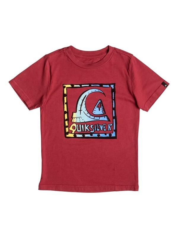 0 Niños 2-7 Camiseta  Logoalolo  AQKZT03212 Quiksilver