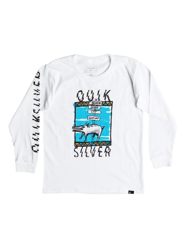 0 Never Lost - Long Sleeve T-shirt  AQKZT03219 Quiksilver