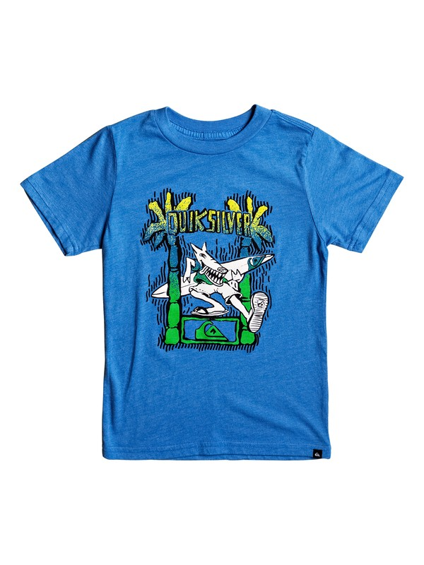 0 Boy's 2-7 Palm Dog Tee  AQKZT03252 Quiksilver