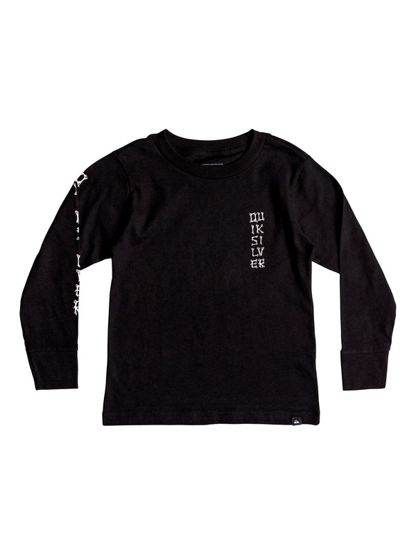 0 BONE PARTY LS KU1 Negro AQKZT03368 Quiksilver