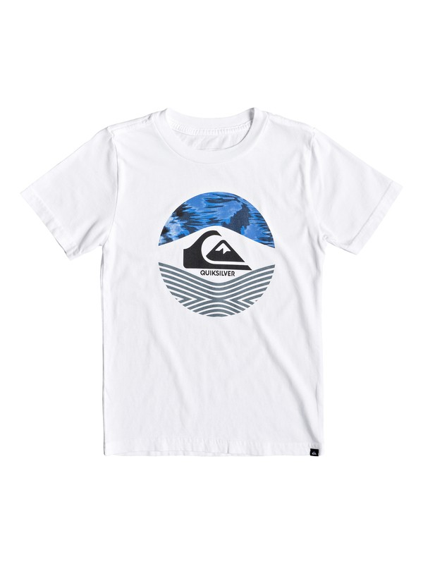 0 Boy's 2-7 Stomped On Tee White AQKZT03429 Quiksilver