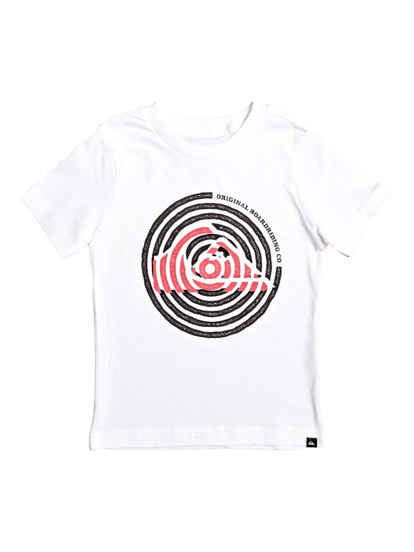 0 Camiseta - Energy Groove Blanco AQKZT03476 Quiksilver