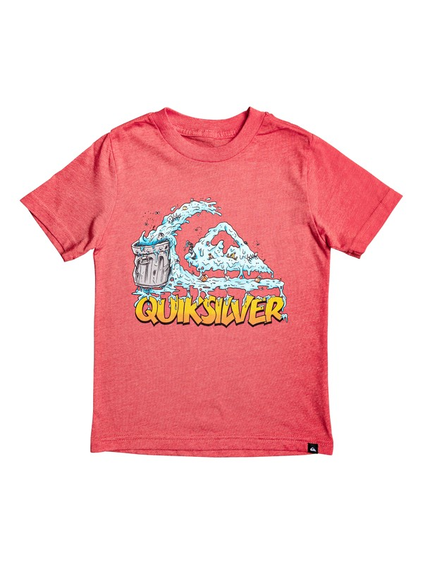 0 Boy's 2-7 Green Cruz Tee Red AQKZT03477 Quiksilver