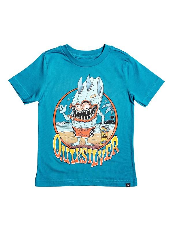 0 Camiseta - Shaka Monster Azul AQKZT03479 Quiksilver
