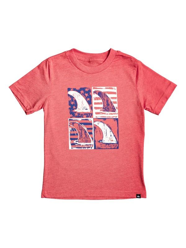 0 Camiseta - Mind Funk USA Rojo AQKZT03482 Quiksilver