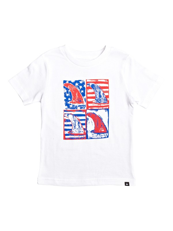 0 Camiseta - Mind Funk USA Blanco AQKZT03482 Quiksilver
