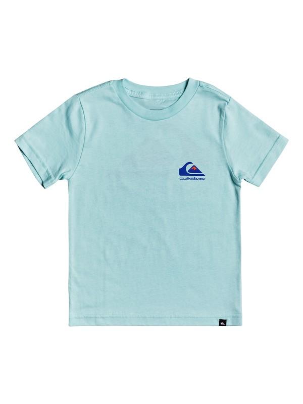 0 Omni Logo - T-Shirt for Boys 2-7 Azul AQKZT03491 Quiksilver