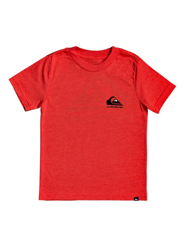 0 Omni Logo - T-Shirt for Boys 2-7 Rojo AQKZT03491 Quiksilver