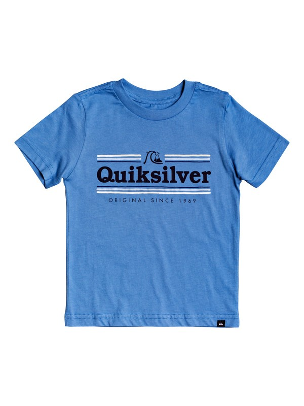 0 Boy's 2-7 Get Buzzy Tee Blue AQKZT03492 Quiksilver