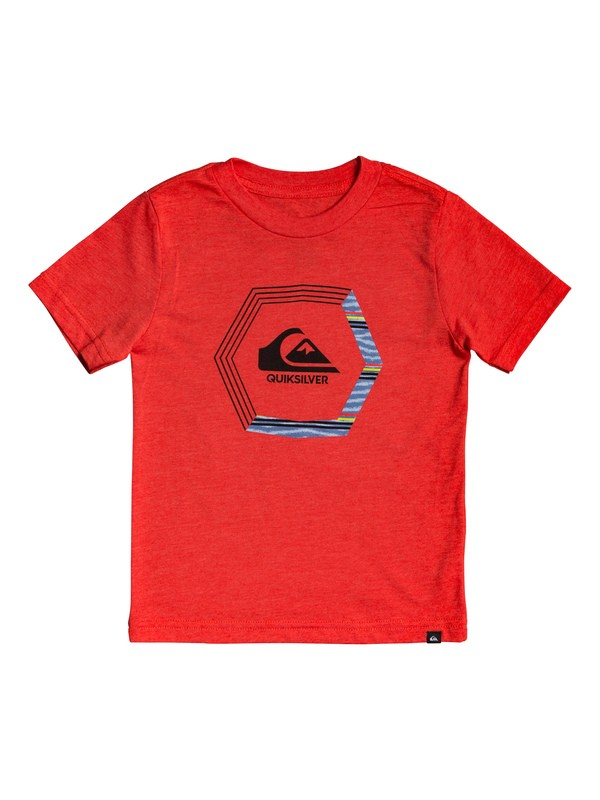 0 Boy's 2-7 Blade Dreams Tee Red AQKZT03493 Quiksilver
