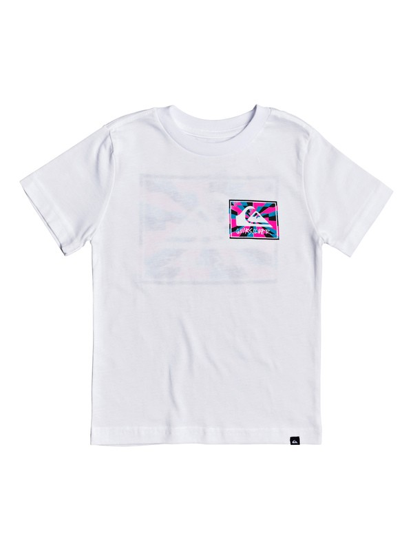0 Boy's 2-7 Enlightened Tunnel Tee White AQKZT03494 Quiksilver