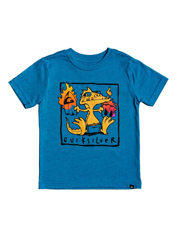 0 Boy's 2-7 Dragon Fever Tee Blue AQKZT03503 Quiksilver