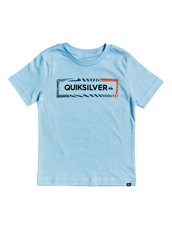 0 Boy's 2-7 Wise Advice Tee Blue AQKZT03520 Quiksilver