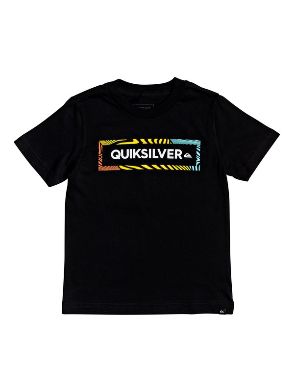 0 Boy's 2-7 Wise Advice Tee Black AQKZT03520 Quiksilver