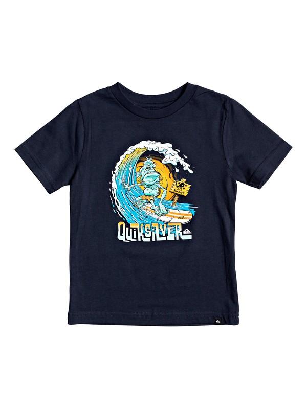 0 Boy's 2-7 Creatures Comfort Tee Blue AQKZT03548 Quiksilver