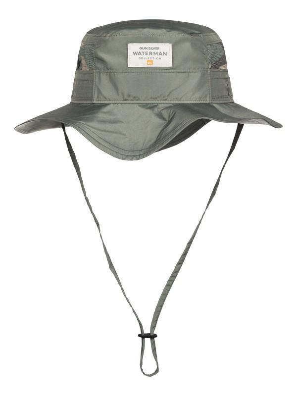 0 Waterman Paddlebank - Bush Hat  AQMHA03054 Quiksilver