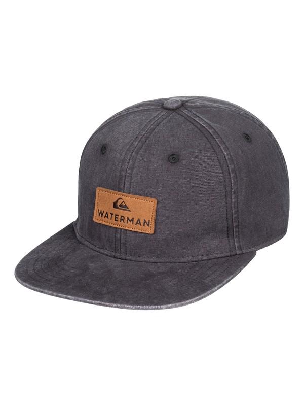 0 Waterman Slimdown Baseball Hat Black AQMHA03109 Quiksilver