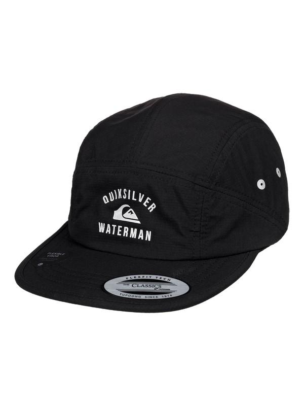 0 Waterman Paddy Slicer Camper Hat Black AQMHA03112 Quiksilver