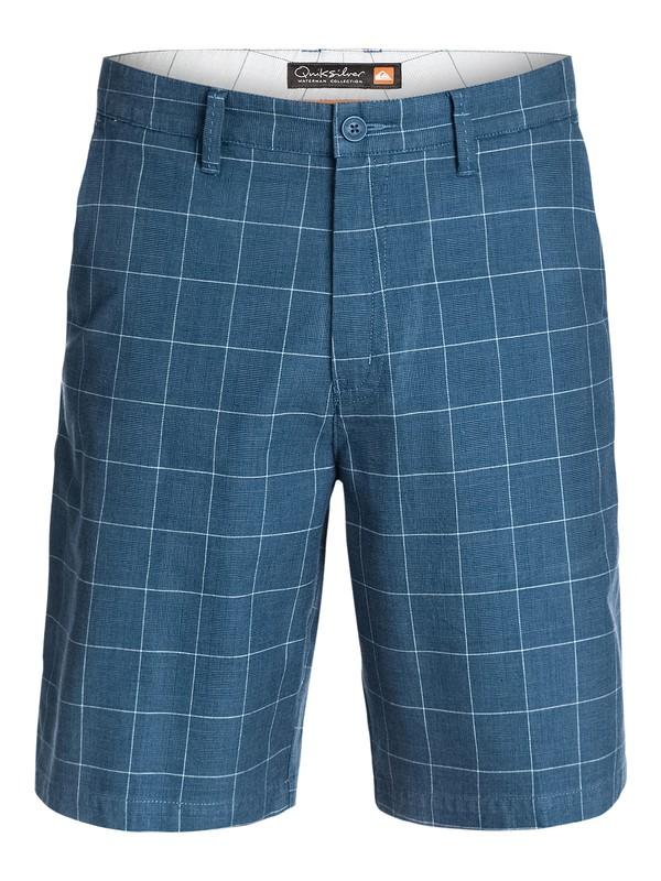 0 Men's New Haven Plaid Shorts  AQMWS03038 Quiksilver