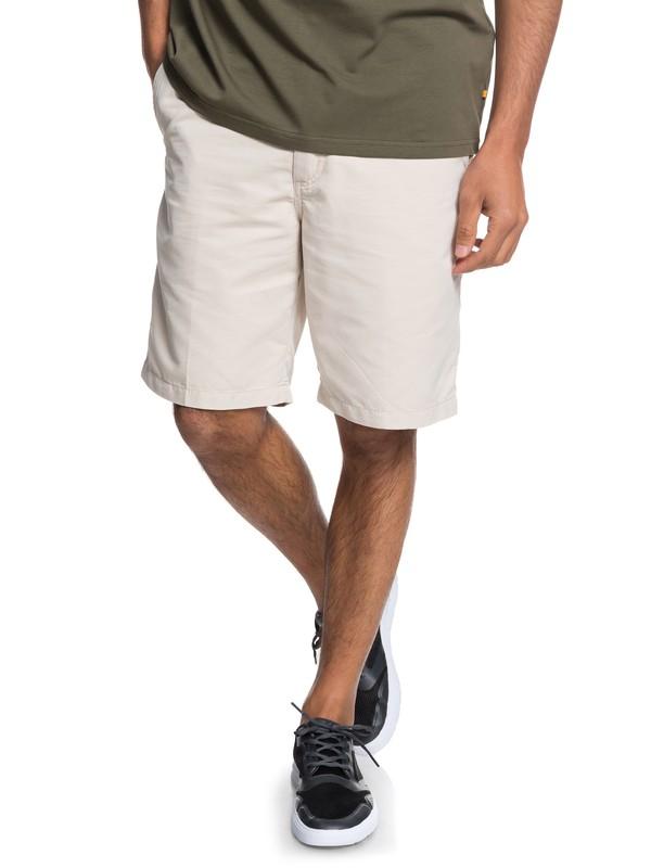 0 Waterman Maldive - Pantalones cortos tipo Chino para Hombre Gris AQMWS03058 Quiksilver