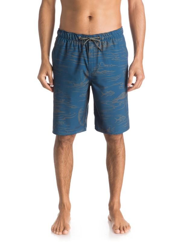 "0 Hombres Shorts Amphibian de 20 ""  Seaside  AQMWS03083 Quiksilver"