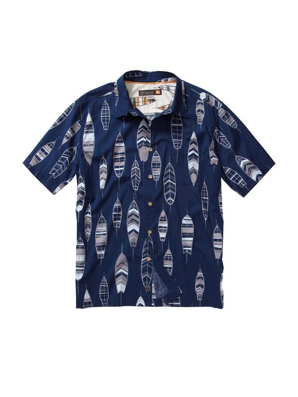 0 Men's Top Deck Short Sleeve Shirt  AQMWT00089 Quiksilver