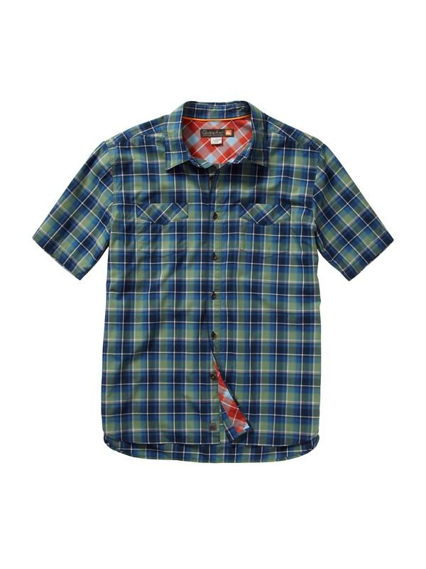 0 Men's Gulf Coast Short Sleeve Shirt  AQMWT00098 Quiksilver