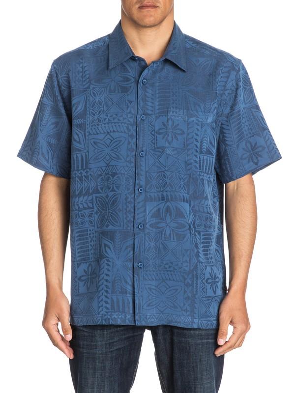 0 Waterman Aganoa Bay Short Sleeve Shirt  AQMWT03105 Quiksilver