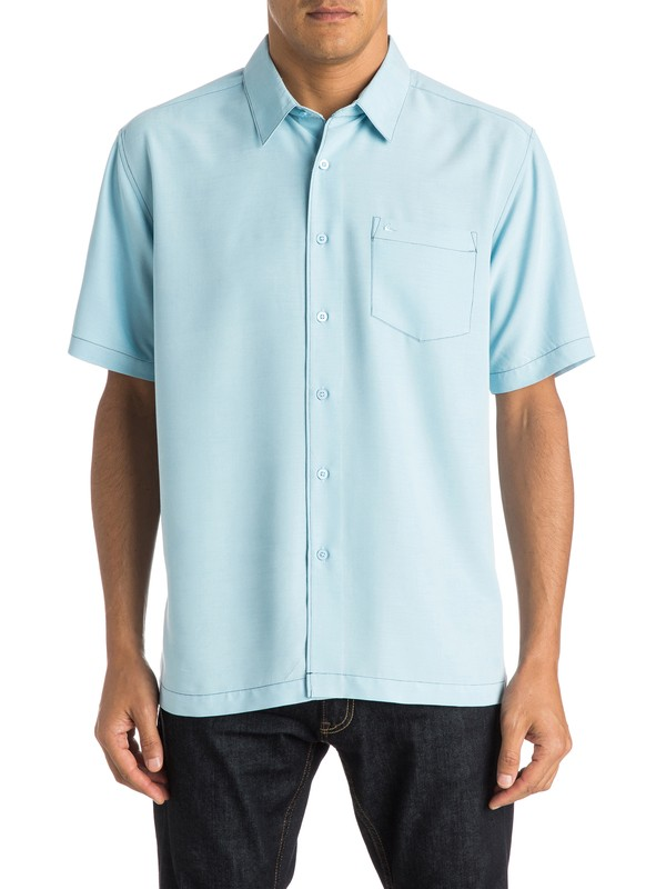 0 Waterman Clear Days Short Sleeve Shirt  AQMWT03107 Quiksilver