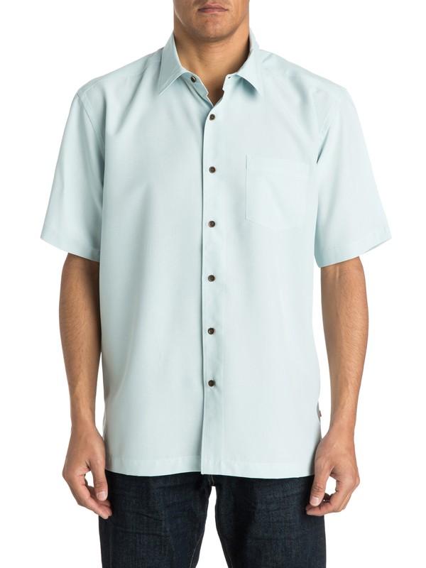 0 Waterman Cane Island Short Sleeve Shirt  AQMWT03113 Quiksilver