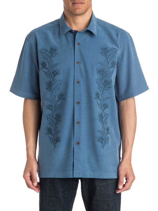 0 Waterman Fiesta Short Sleeve Shirt  AQMWT03138 Quiksilver