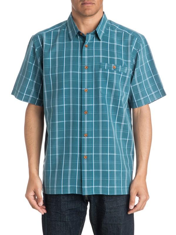 0 Waterman Crows Nest - Short Sleeve Shirt  AQMWT03168 Quiksilver