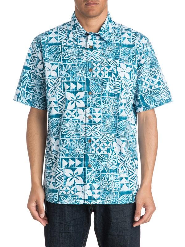 0 Waterman Salani - Short Sleeve Shirt  AQMWT03172 Quiksilver