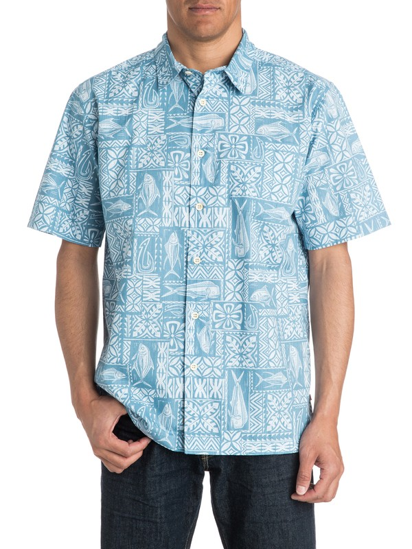 0 Waterman Guru - Short Sleeve Shirt  AQMWT03180 Quiksilver