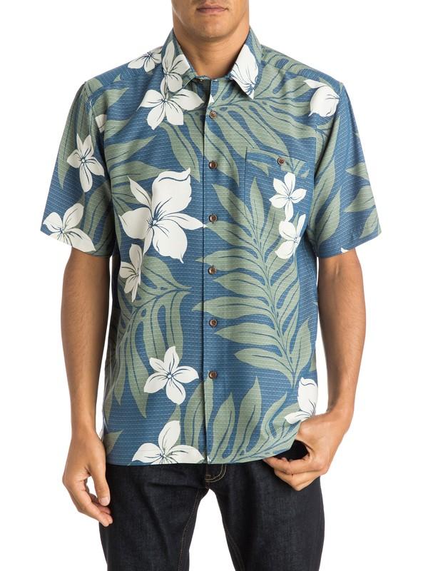 0 Waterman Shonan Short Sleeve Shirt  AQMWT03192 Quiksilver