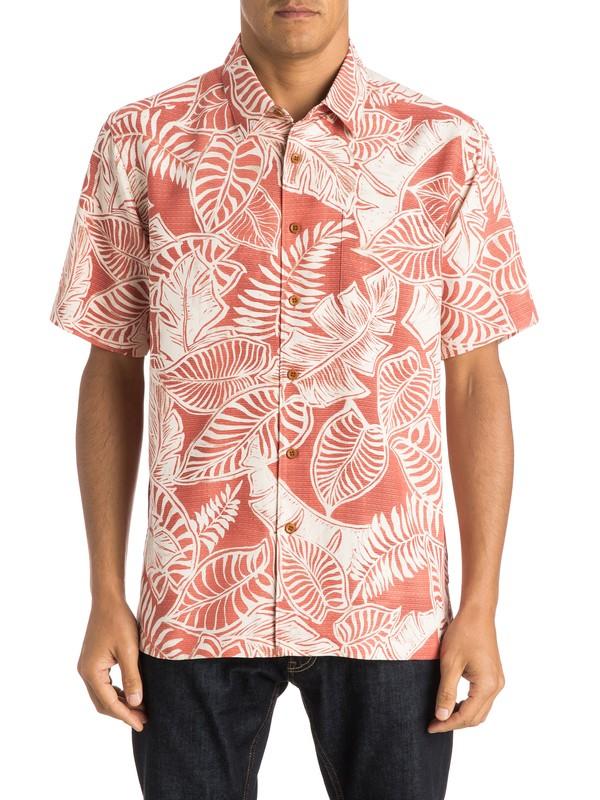 0 Waterman Siesta Short Sleeve Shirt  AQMWT03193 Quiksilver