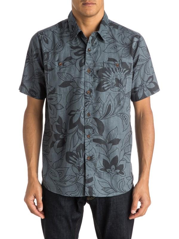 0 Waterman Abundance - Short Sleeve Shirt  AQMWT03214 Quiksilver
