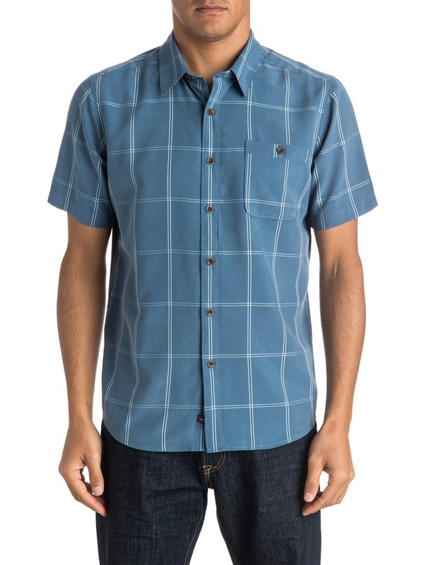 0 Waterman Slow And Steady Short Sleeve Shirt  AQMWT03242 Quiksilver