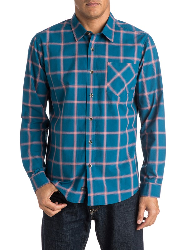 0 Waterman Home Stretch Long Sleeve Shirt  AQMWT03244 Quiksilver