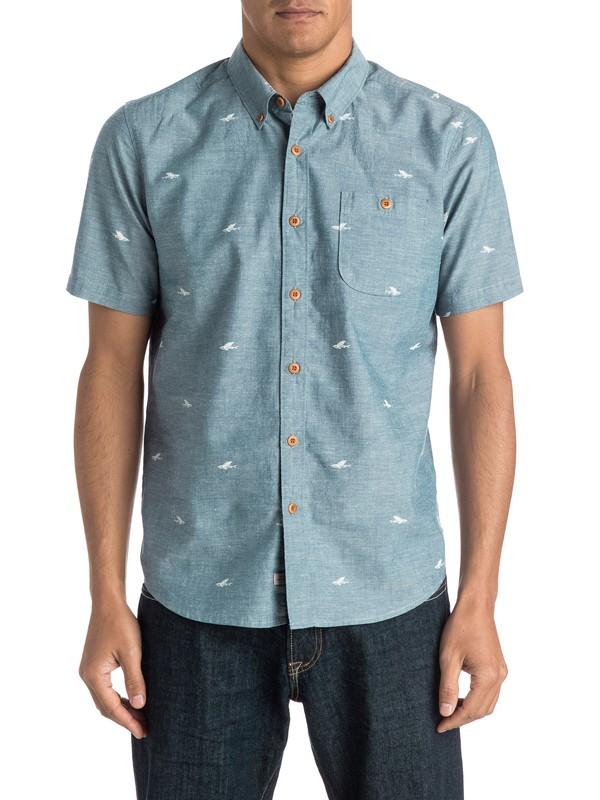 0 Waterman Post Haste Short Sleeve Shirt  AQMWT03258 Quiksilver