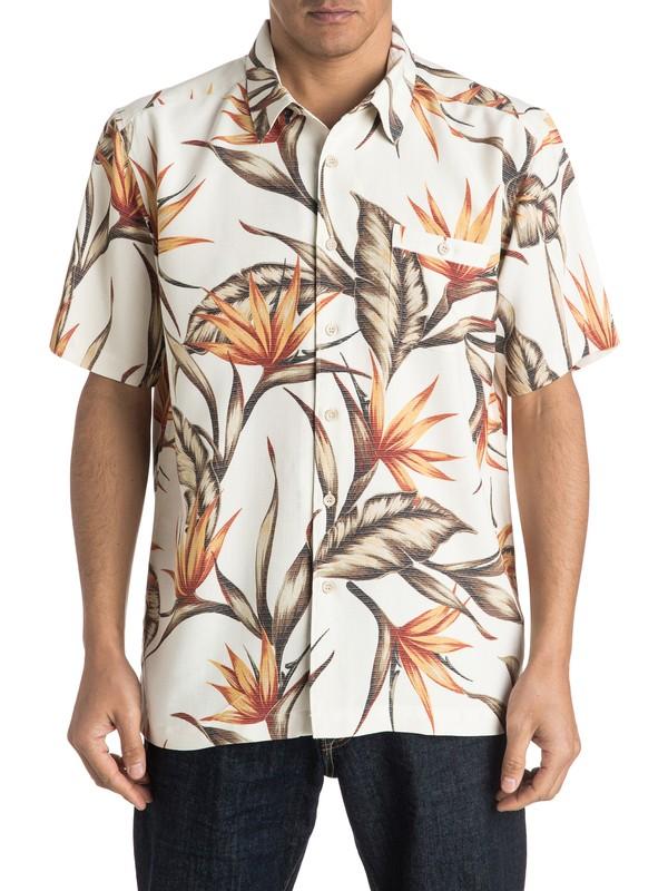 0 Waterman Good Spirits Short Sleeve Shirt  AQMWT03289 Quiksilver