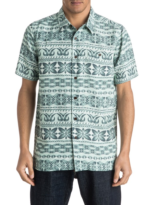 0 Waterman Lono Short Sleeve Shirt  AQMWT03290 Quiksilver