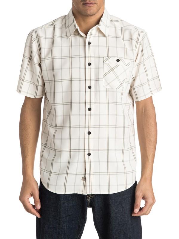 0 Waterman Half Hitch Short Sleeve Shirt  AQMWT03300 Quiksilver