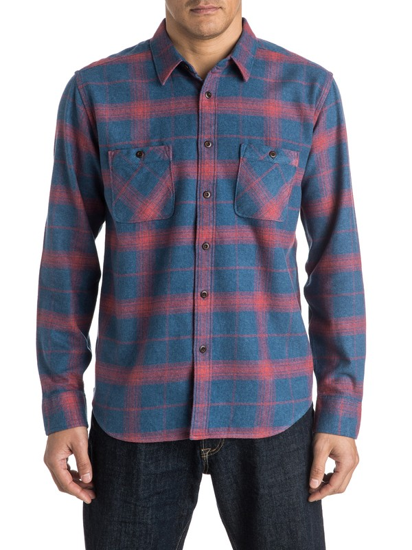 0 Waterman Go Forth - Long Sleeve Shirt  AQMWT03303 Quiksilver