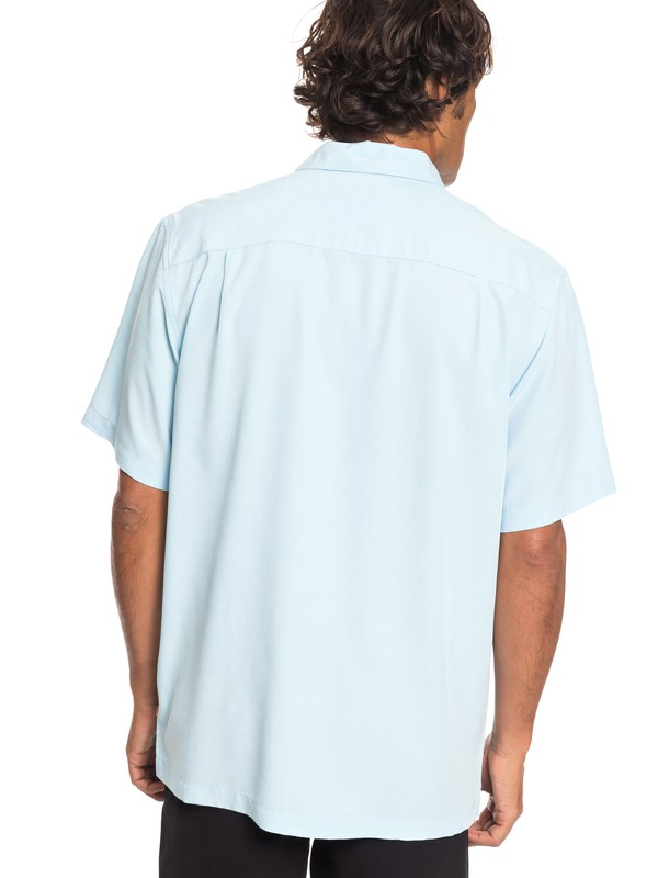 Waterman Tahiti Palms - Short Sleeve Shirt for Men  AQMWT03356