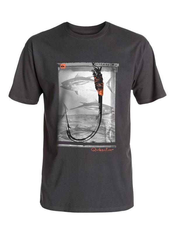0 Waterman Hooked - T-Shirt  AQMZT03138 Quiksilver